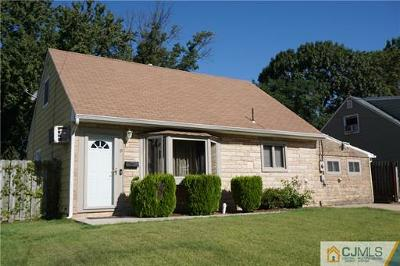 Sayreville Single Family Home For Sale: 9 Buttonwood Drive