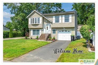 Old Bridge Single Family Home For Sale: 857 Grove Avenue