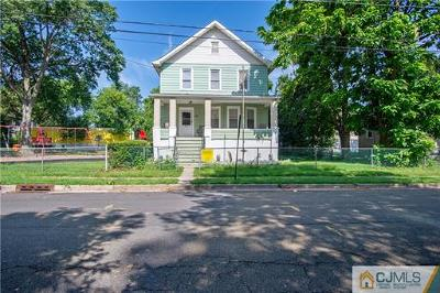 Linden Single Family Home For Sale: 713 Bergen Avenue