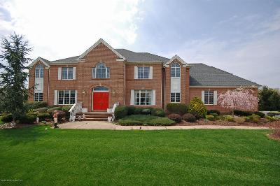 Colts Neck Single Family Home For Sale: 6 Twin Lakes Drive
