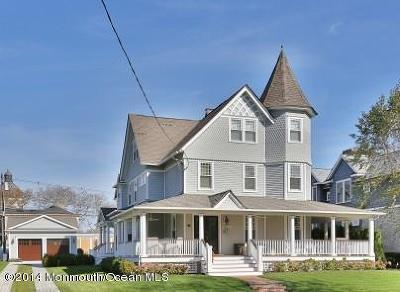 Spring Lake Rental For Rent: 214 Monmouth Avenue