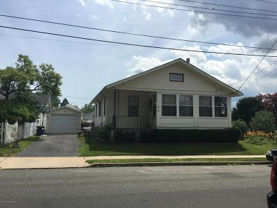 Neptune City Single Family Home Under Contract: 15 Bradley Street