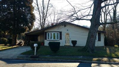 Neptune Township Single Family Home Under Contract: 304 Palmer Avenue