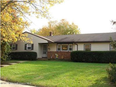 Howell Single Family Home Under Contract: 19 Taunton Drive