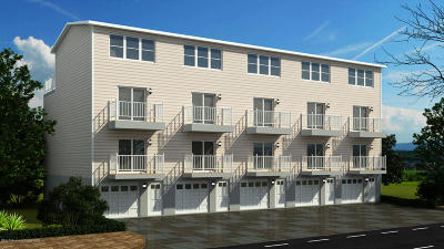 Seaside Heights Condo/Townhouse For Sale: 205 Fremont Avenue #Unit 5