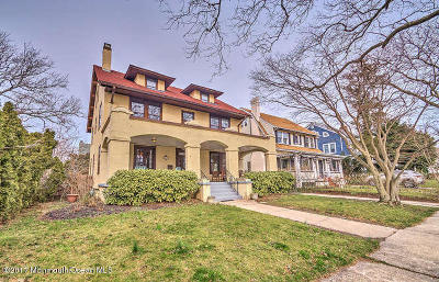 Asbury Park Single Family Home For Sale: 703 7th Avenue