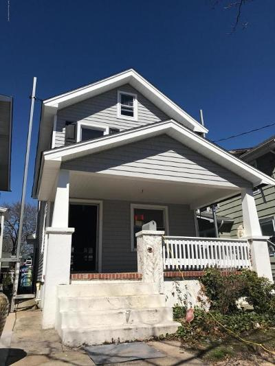 Asbury Park Single Family Home For Sale: 1221 3rd Avenue