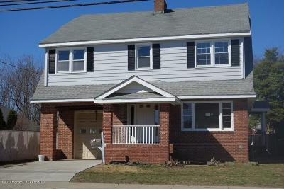 Long Branch Single Family Home For Sale: 449 Joline Avenue