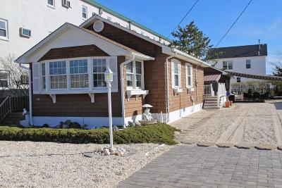 Lavallette Single Family Home Under Contract: 100 Jersey City Avenue
