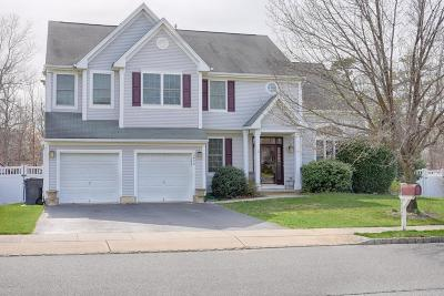 Toms River Single Family Home Under Contract: 2428 Forest Circle