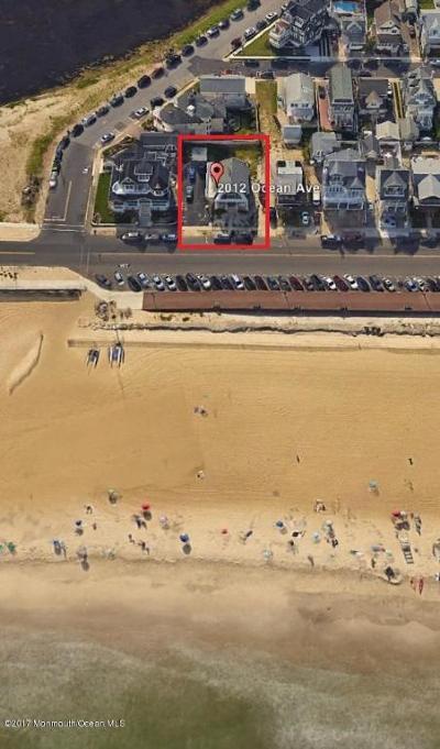 Belmar Single Family Home For Sale: 2012 Ocean Avenue
