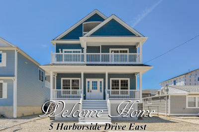 Ortley Beach Single Family Home For Sale: 5 E Harborside Drive