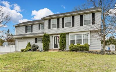 Toms River Single Family Home Under Contract: 1634 Old Freehold Road