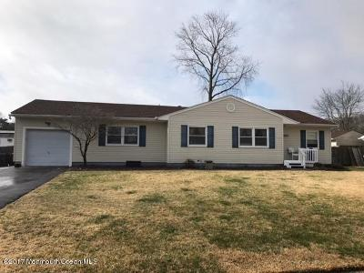 Toms River Single Family Home Under Contract: 1117 Dove Street