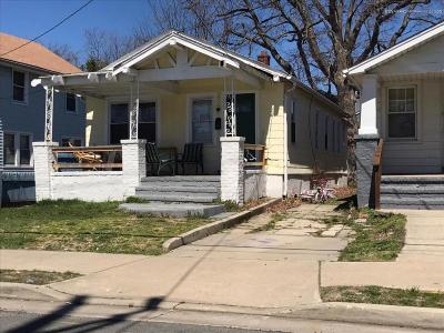 Asbury Park Single Family Home For Sale: 1605 1/2 Sewall Avenue