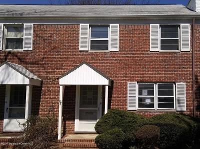 Red Bank Condo/Townhouse Under Contract: 124 Manor Drive