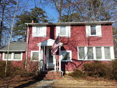 Toms River Single Family Home Under Contract: 709 Morris Boulevard