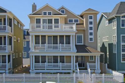 Avon-by-the-sea, Belmar Single Family Home For Sale: 1204 Ocean Avenue