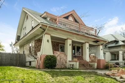 Asbury Park Single Family Home Under Contract: 1308 3rd Avenue