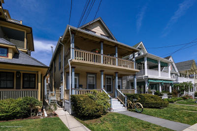 Ocean Grove Multi Family Home Under Contract: 23 Surf Avenue