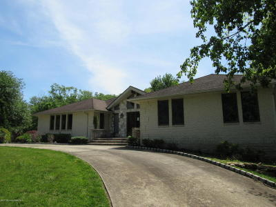 Wall Single Family Home For Sale: 1620 Martin Road