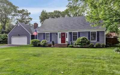 Brielle Single Family Home For Sale: 1025 Cedar Lane