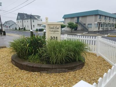 Point Pleasant Beach Condo/Townhouse For Sale: 101 New Jersey Avenue #F