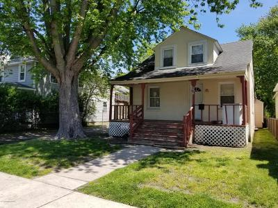 Asbury Park Single Family Home For Sale: 206 Dewitt Avenue