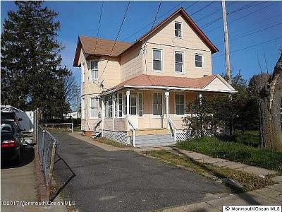 Long Branch Single Family Home For Sale: 72 6th Avenue