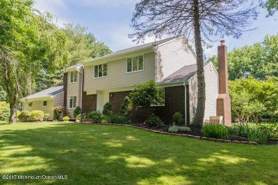 Holmdel Single Family Home Under Contract: 23 Rambling Brook Drive