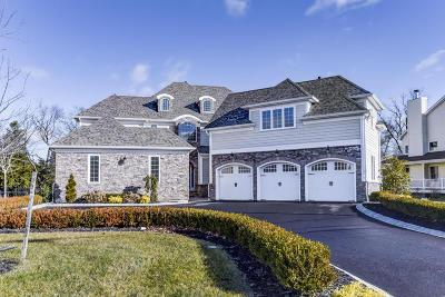 Sea Girt Single Family Home For Sale: 1214 Magnolia Avenue
