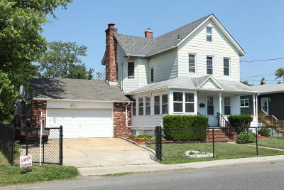 Long Branch Single Family Home For Sale: 249 Edwards Avenue