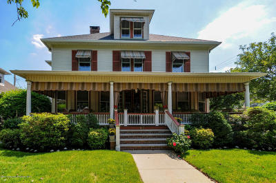 Ocean Grove Single Family Home Under Contract: 60 Webb Avenue