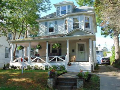 Bradley Beach Single Family Home For Sale: 413 Brinley Avenue