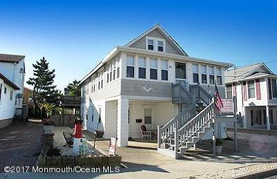 Seaside Park Multi Family Home For Sale: 21 M Street #St