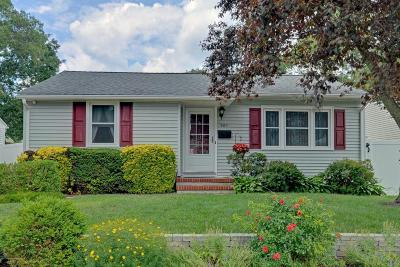 Point Pleasant Single Family Home Under Contract: 509 Hillside Avenue