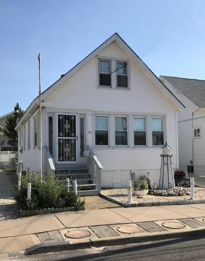 Seaside Park Single Family Home For Sale: 23 N Street