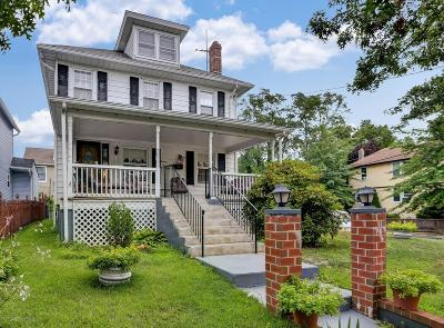 Asbury Park Single Family Home For Sale: 1201 1st Avenue