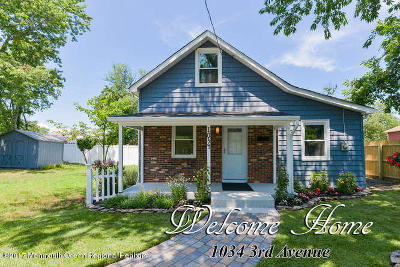 Wall Single Family Home Under Contract: 1034 3rd Avenue