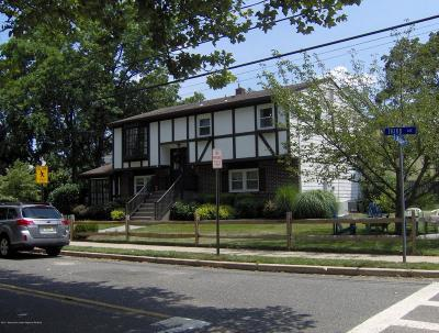 Atlantic Highlands Single Family Home For Sale: 86 Third Avenue