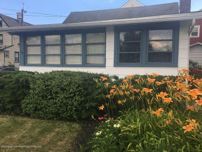 Ocean Grove Single Family Home For Sale: 128 Broadway