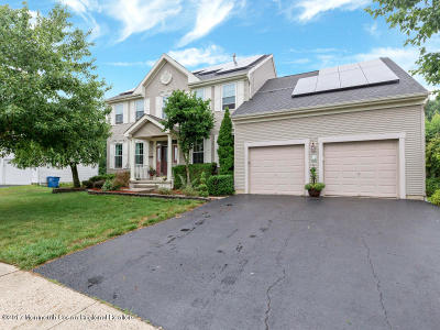 Howell Single Family Home Under Contract: 55 Brent Drive