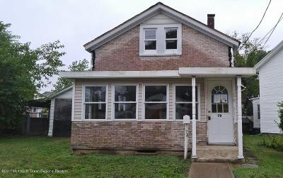 Long Branch Single Family Home For Sale: 78 Pearl Street