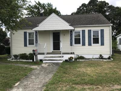 Hazlet Single Family Home For Sale: 6 Hudson Avenue