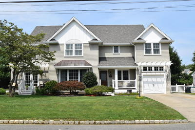 Brielle NJ Single Family Home Under Contract: $799,999