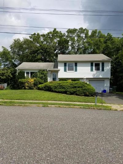 Neptune Township NJ Single Family Home Under Contract: $230,000