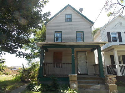 Asbury Park Single Family Home For Sale: 916 Mattison Avenue
