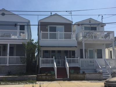 Bradley Beach Single Family Home For Sale: 119 Lake Terrace