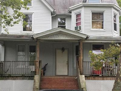 Asbury Park Single Family Home For Sale: 936 Monroe Avenue
