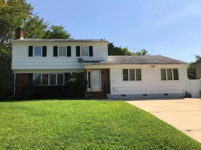 Long Branch Single Family Home For Sale: 751 Shrewsbury Avenue